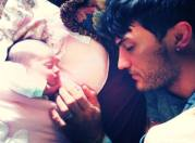 adam and baby